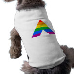 Straight Ally Symbol Dog Tshirt