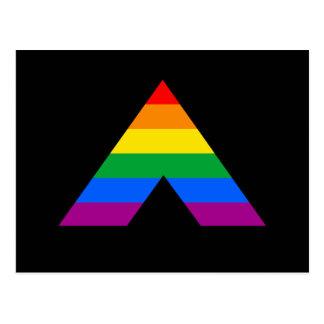 Straight Ally Symbol Postcard