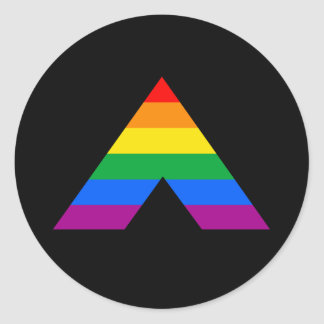 Straight Ally Symbol Stickers