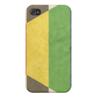 STRAIGHT ALLY VINTAGE DESIGN iPhone 4 COVER