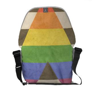 STRAIGHT ALLY VINTAGE DESIGN MESSENGER BAG