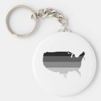 Straight America Keychain