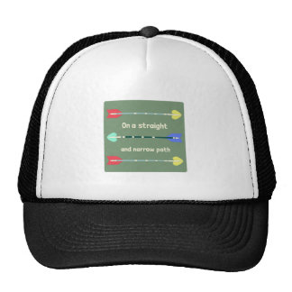 Straight And Narrow Trucker Hat