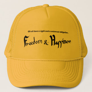 Straight and Obligation Trucker Hat