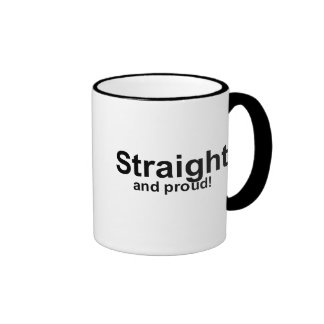 Straight…and proud! ringer mug