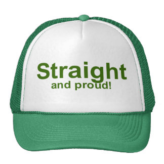 Straight…and proud! trucker hat