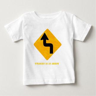 Straight as an arrow baby T-Shirt