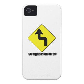 Straight as an arrow iPhone 4 cover