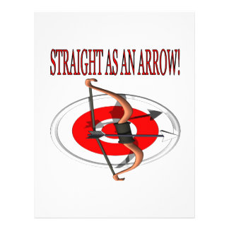 Straight As An Arrow Personalized Flyer