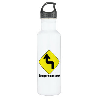 Straight as an arrow 24oz water bottle