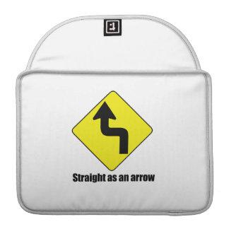Straight as an arrow sleeves for MacBooks