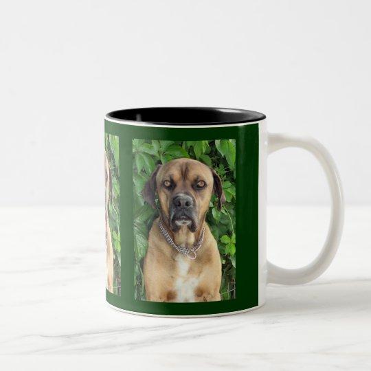 Straight Back at Ya! Two-Tone Coffee Mug