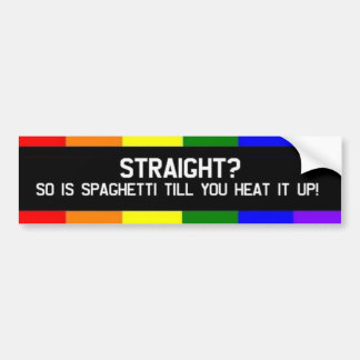 Straight? Bumper Sticker