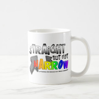 Straight but not Narrow Coffee Mug