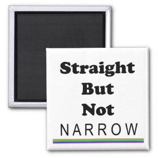 Straight But Not Narrow Fridge Magnet