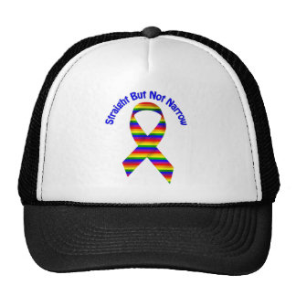 Straight But Not Narrow Gay Pride Tees, Gifts Trucker Hat