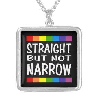 Straight But Not Narrow Necklace - Square