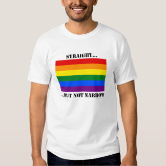 Straight...but not narrow  - Prop 8 (light colors) Tshirt
