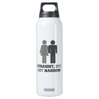 Straight but not narrow SIGG thermo 0.5L insulated bottle