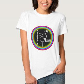Straight but not Narrow T Shirt