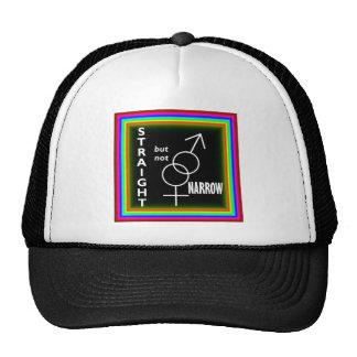 Straight but not Narrow Trucker Hat