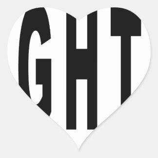 Straight Dope. Heart Sticker