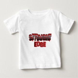 Straight Edge Baby T-Shirt