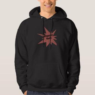 Straight edge brick wall hoodie
