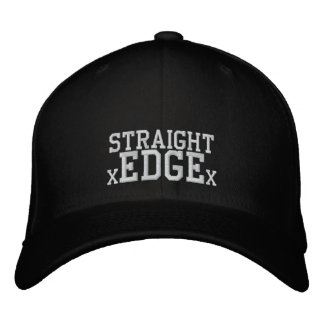 Straight Edge cap Embroidered Baseball Cap