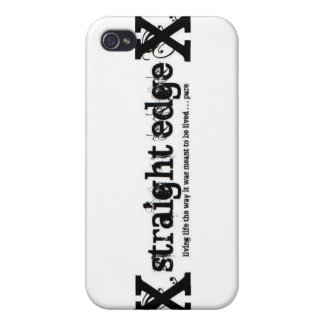 Straight Edge iPhone 4 Case