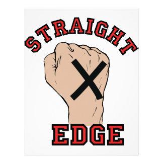 Straight Edge Letterhead