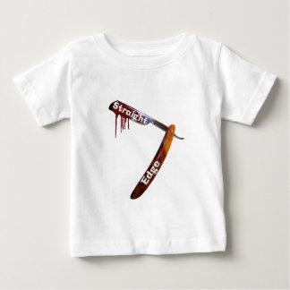 Straight Edge Straight Razor Baby T-Shirt