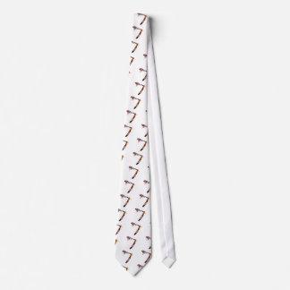 Straight Edge Straight Razor Neck Tie