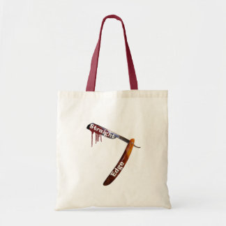 Straight Edge Straight Razor Tote Bag