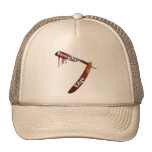 Straight Edge Straight Razor Trucker Hat