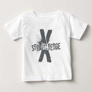 Straight Edge X dark grey Baby T-Shirt