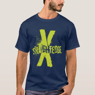Straight Edge X green T-Shirt