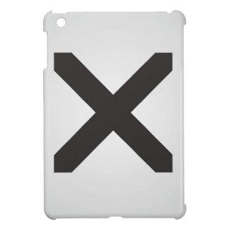 Straight Edge X iPad Mini Cover