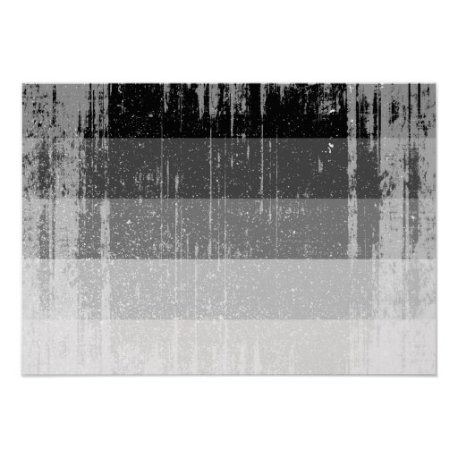 STRAIGHT FLAG DISTRESSED -.png Print