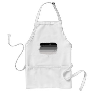 STRAIGHT FLAG DRIPPING ADULT APRON