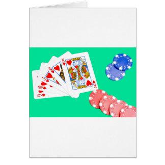 Straight Flush Card