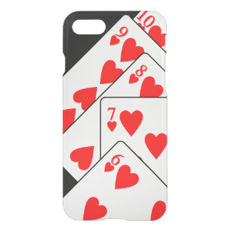 Straight Flush iPhone 7 Clearly™ Deflector Case