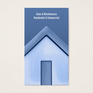 Straight House Business Card