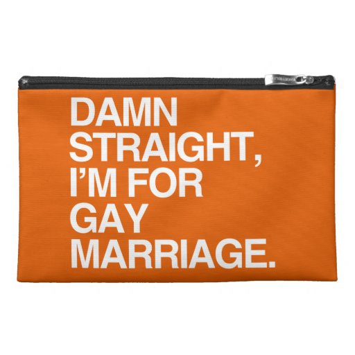 STRAIGHT I'M FOR GAY MARRIAGE TRAVEL ACCESSORIES BAGS