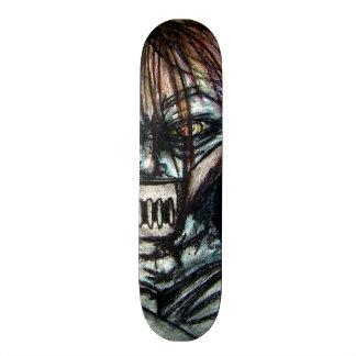 Straight Jacket Psycho Killer for Halloween Skate Board