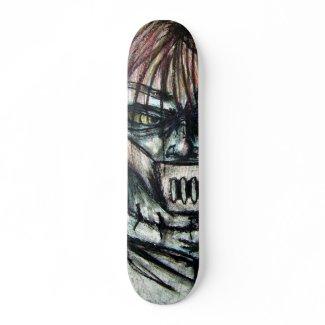 Straight Jacket Psycho Killer Halloween skateboard skateboard