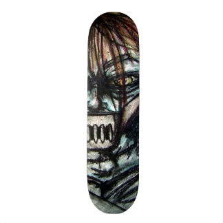 Straight Jacket Psycho Killer Halloween Skateboard Deck