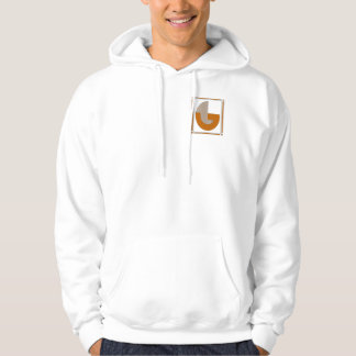 Straight lines art deco with monogram, letter G Hoodie