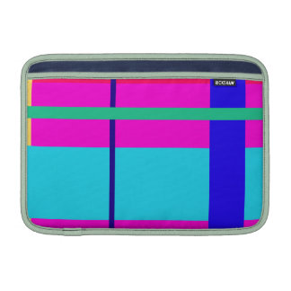 Straight Lines Sleeve For MacBook Air