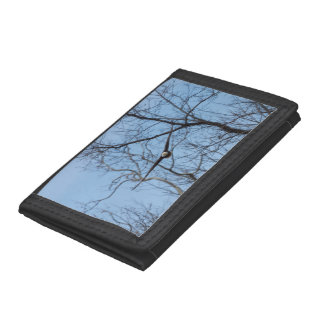 Straight On Eagle Trifold Wallet